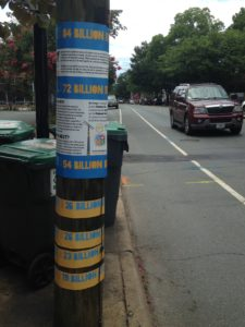 Picture of Pole with Signage on It